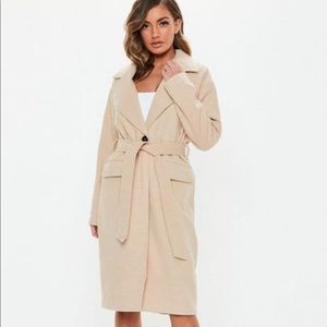Belted long line coat - new with tags!!!!